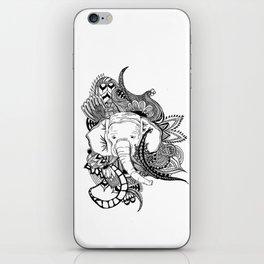 Inking Elephant iPhone Skin