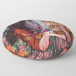 A Midsummer Nights Dream Floor Pillow