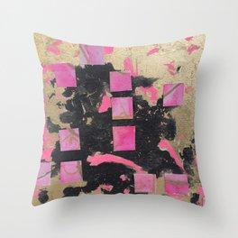 glam pink Throw Pillow