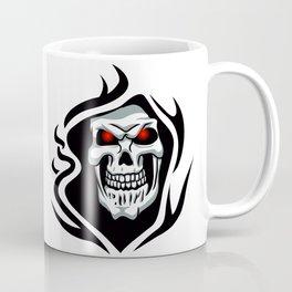Skull tribal tattoo Coffee Mug