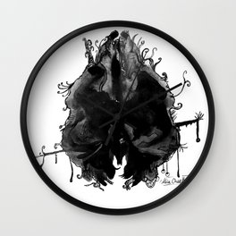 Paper Scrolls (1) Controversial Wall Clock