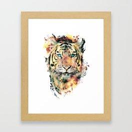 Tiger III Framed Art Print