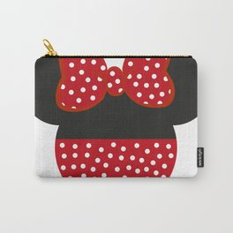 Mouse Ears Red Carry-All Pouch