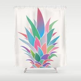 Pineapple Top II Shower Curtain