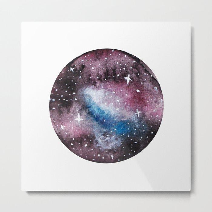 Medusa Nebula Painting Metal Print