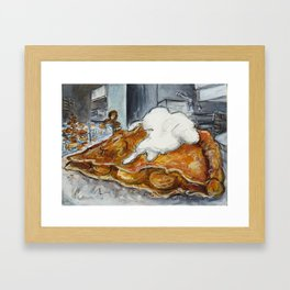 Pie in the Mission Framed Art Print