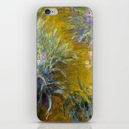 Claude Monet The Path through the Irises iPhone Skin