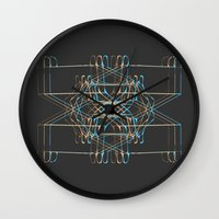 ship Wall Clocks featuring ship by K_REY_C