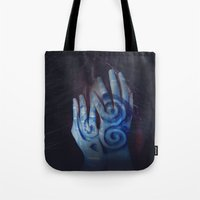 celtic Tote Bags featuring Celtic by Severine A. Raynaud