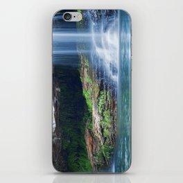 Waterfalls at Fern Pool in Karijini National Park, Western Australia iPhone Skin