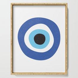 Evil Eye Symbol Serving Tray