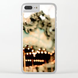 New York Carousel Clear iPhone Case