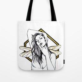 La chica libélula Tote Bag