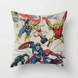 aaaa Throw Pillow