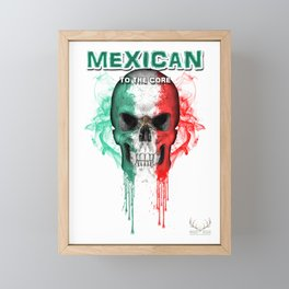 To The Core Collection: Mexico Framed Mini Art Print