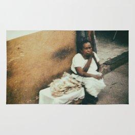 Mexican Street Vendor Rug