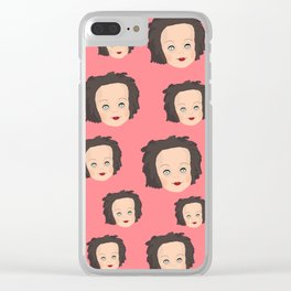 Susan II Clear iPhone Case
