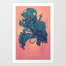 Sellout Art Print