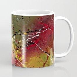 INNERGLOW - Abstract painting design, colorful splash art, Large canvas art Coffee Mug