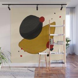 Abstract minimal Wall Mural