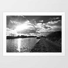 canal life... Art Print