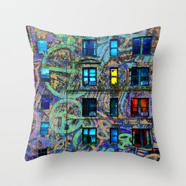 Candy From Strangers Throw Pillow