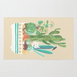 Desert planter Rug