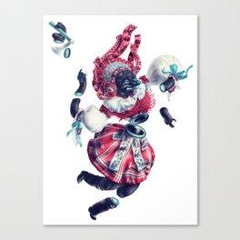 Trickster Wolf Dancer Canvas Print