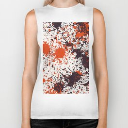Action Painting No 123 By Chad Paschke Biker Tank