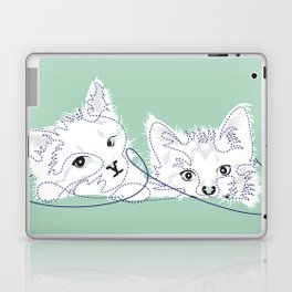 mint kittens 02 Laptop & iPad Skin