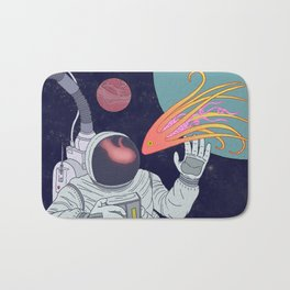 Cosmonaut Bath Mat