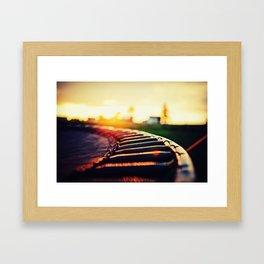 Trampoline Framed Art Print