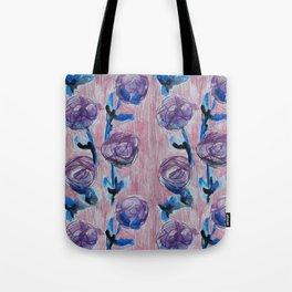 Rose Petals Series Paintings Tote Bag
