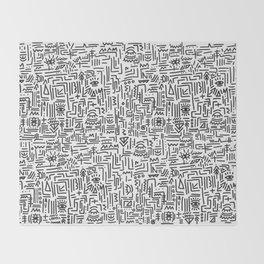 Tipsy pattern Throw Blanket