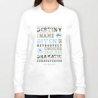 destiny Long Sleeve T-shirts featuring Destiny by Megan Matsuoka