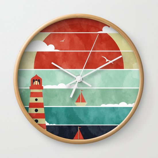 Coming Home. Wall Clock