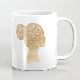 Esther 4:14 Rose Gold Coffee Mug