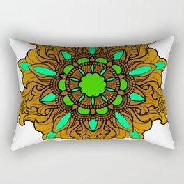 Tibetan Filigree v1 Rectangular Pillow
