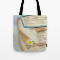 read Tote Bags featuring Read by Debbie Wibowo