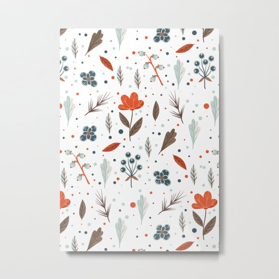 Pattern/1 Metal Print