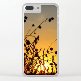 Celebrating Life Clear iPhone Case