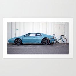 Ritte Lotus Esprit and Ace Art Print