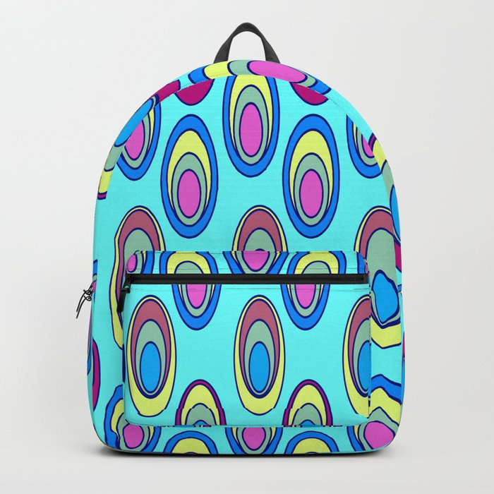 Colorful ovals Backpack