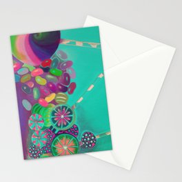 Lollipop & Jelly Beans Stationery Cards