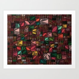 Abstract 76 Art Print