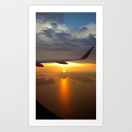 on air Art Print