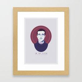 In The Flesh - Simon Monroe Framed Art Print