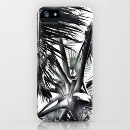 Under The Palm Tree | Tropical | Modern iPhone Case