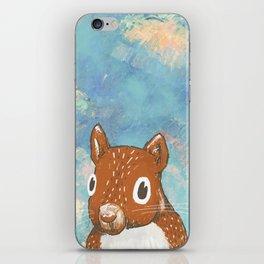 Kindergarten Squirrel.  iPhone Skin