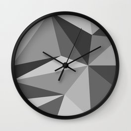 Different shades of Grey Wall Clock